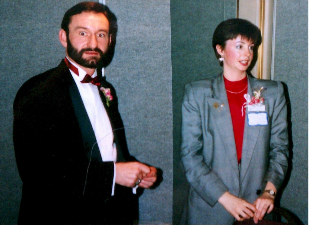 Hugh Hawkins and Jillayne Schlicke, 1989